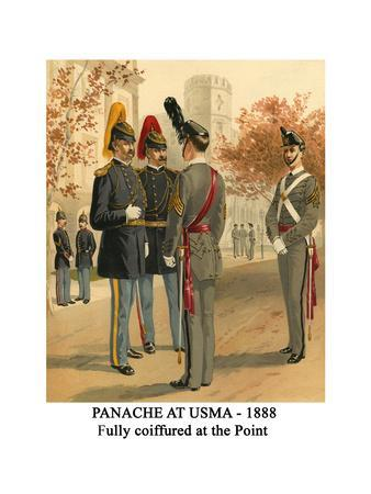 Panache at Usma - 1888 - Fully Coiffured at the Point