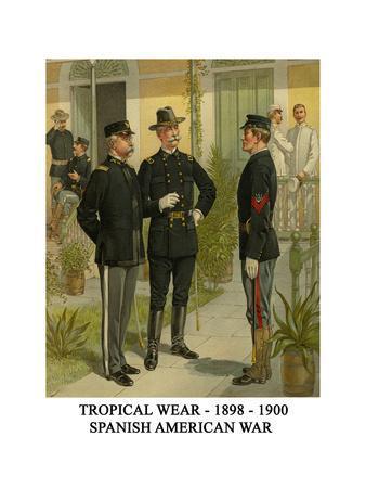 Tropical Wear - 1898 - 1900 - Spanish American War