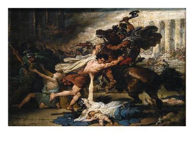 The Sack of Jerusalem by the Romans
