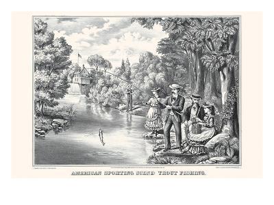 American Sporting Scene: Trout Fishing