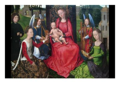 Virgin and Child with Saints Catherine of Alexandria and Barbara, Early 1480S