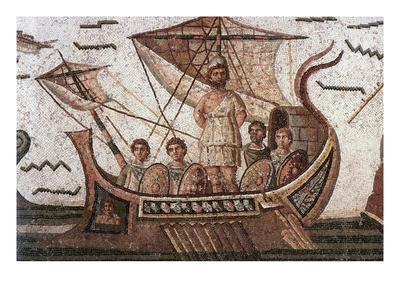 Ulysses in His Ship