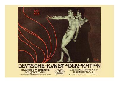 German Art Decoration Magazine by Subscription