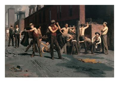 The Ironworkers at Noontime