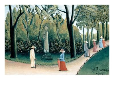 Luxembourg Gardens - Monument to Chopin