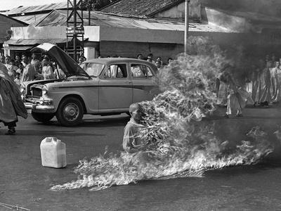 Vietnam Monk Protest