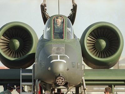 Saudi Arabia Army U.S. Airforce A10 Warthog Tank-Killer Kuwait Crisis