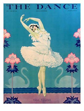 The Dance, Anna Pavlova, 1929, USA