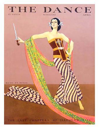 The Dance, Ruth St Denis, 1929, USA