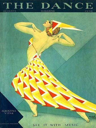 The Dance, Albertina Vitak, 1929, USA