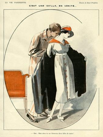 La Vie Parisienne, R Prejelan, 1919, France