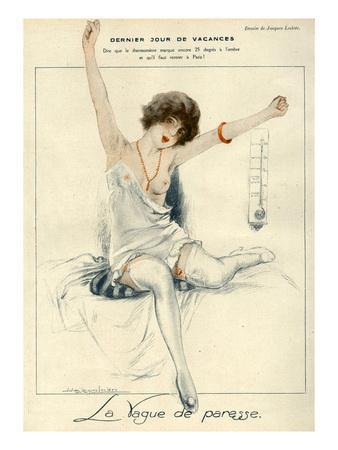 La Vie Parisienne, J Leclerc, 1919, France