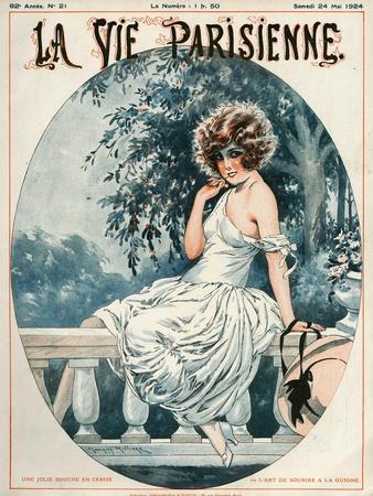 La Vie Parisienne, Maurice Milliere, 1924, France