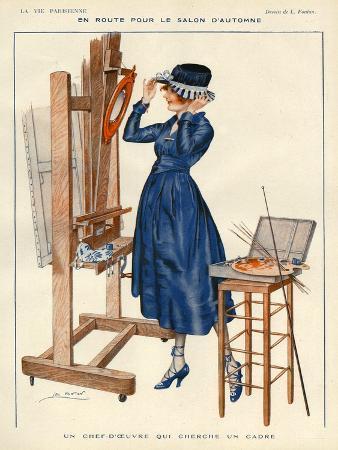 La Vie Parisienne, Leo Fontan, 1919, France