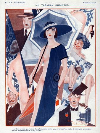 La Vie Parisienne, Zaliouk, 1923, France