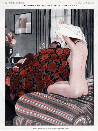 La Vie Parisienne, Georges Leonnec, 1923, France
