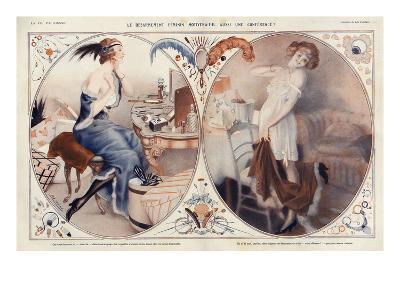 La Vie Parisienne, Leo Fontan, 1922, France