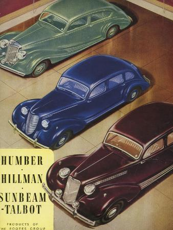 Humber, Hillman, Sunbeam-Talbot, UK