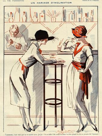 La Vie Parisienne, Prejelan, 1920, France