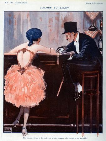 La Vie Parisienne, Georges Leonnec, 1920, France