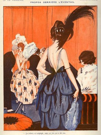La Vie Parisienne, Julien Jacques Leclerc, 1920, France