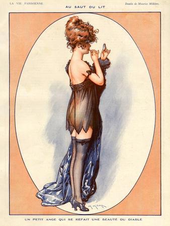 La Vie Parisienne, Maurice Milliere, 1920, France