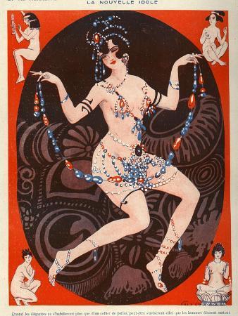 La Vie Parisienne, Vald'es, 1929, France