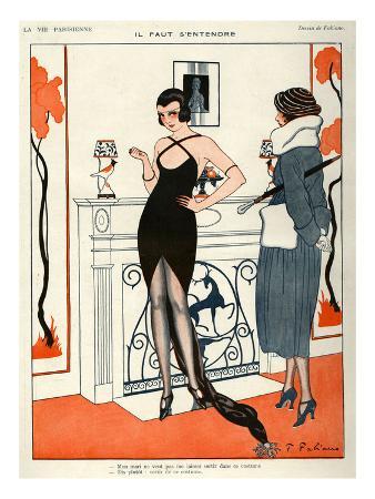 La Vie Parisienne, Fabien Fabiano, 1920, France