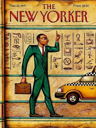 The New Yorker Cover - March 10, 1997