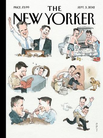 The New Yorker Cover - September 3, 2012
