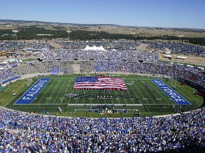Air Force Academy - Game Day at Falcon Stadium