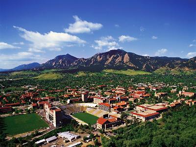 University of Colorado - University of Colorado Aerial