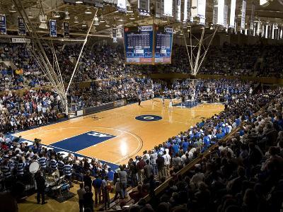 Duke University - Cameron Indoor Stadium Interior