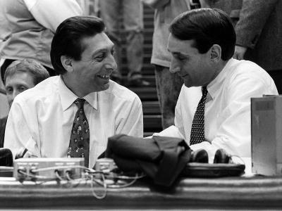 Duke University - Coaches Valvano and Krzyzewski