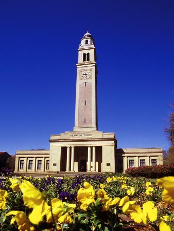 Louisiana State University - Memorial Tower