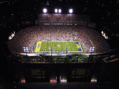 Louisiana State University - Aerial View of Tiger Stadium