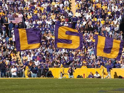 Louisiana State University - LSU Flags
