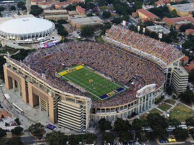 Louisiana State University - Tiger Stadium Aerial