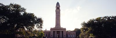 Louisiana State University - Memorial Tower Panorama