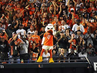 University of Miami - Miami Mascot