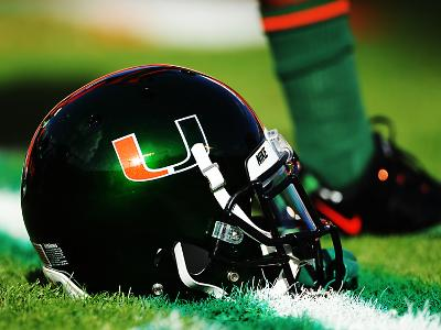 University of Miami - Miami Helmet