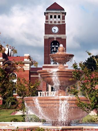 University of Mississippi (Ole Miss) - Fountain and Chapel