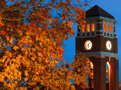 University of Mississippi (Ole Miss) - Peddle Bell Tower