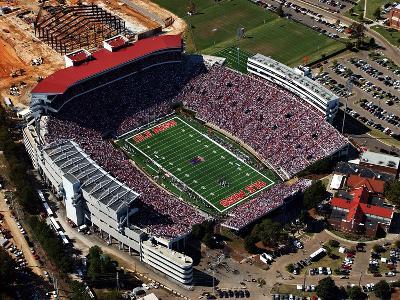 University of Mississippi (Ole Miss) - View Above Vaught-Hemingway Stadium