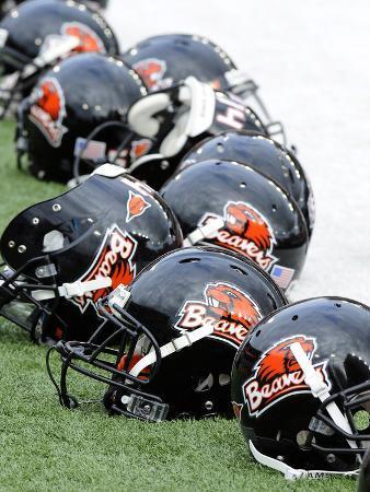 Oregon State University - Oregon State Football Helmets