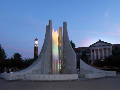 Purdue University - Engineering Fountain