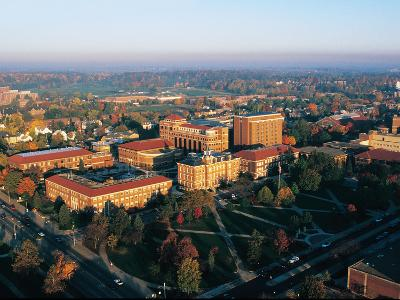 Purdue University - Fall Aerial