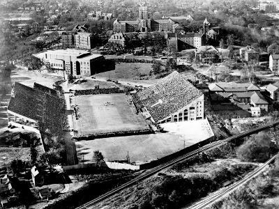 University of Tennessee - An Aerial View of Campus on Game Day