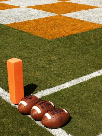 University of Tennessee - UT Football and Endzone