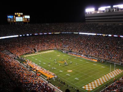 University of Tennessee - Neyland Night Game vs NIU